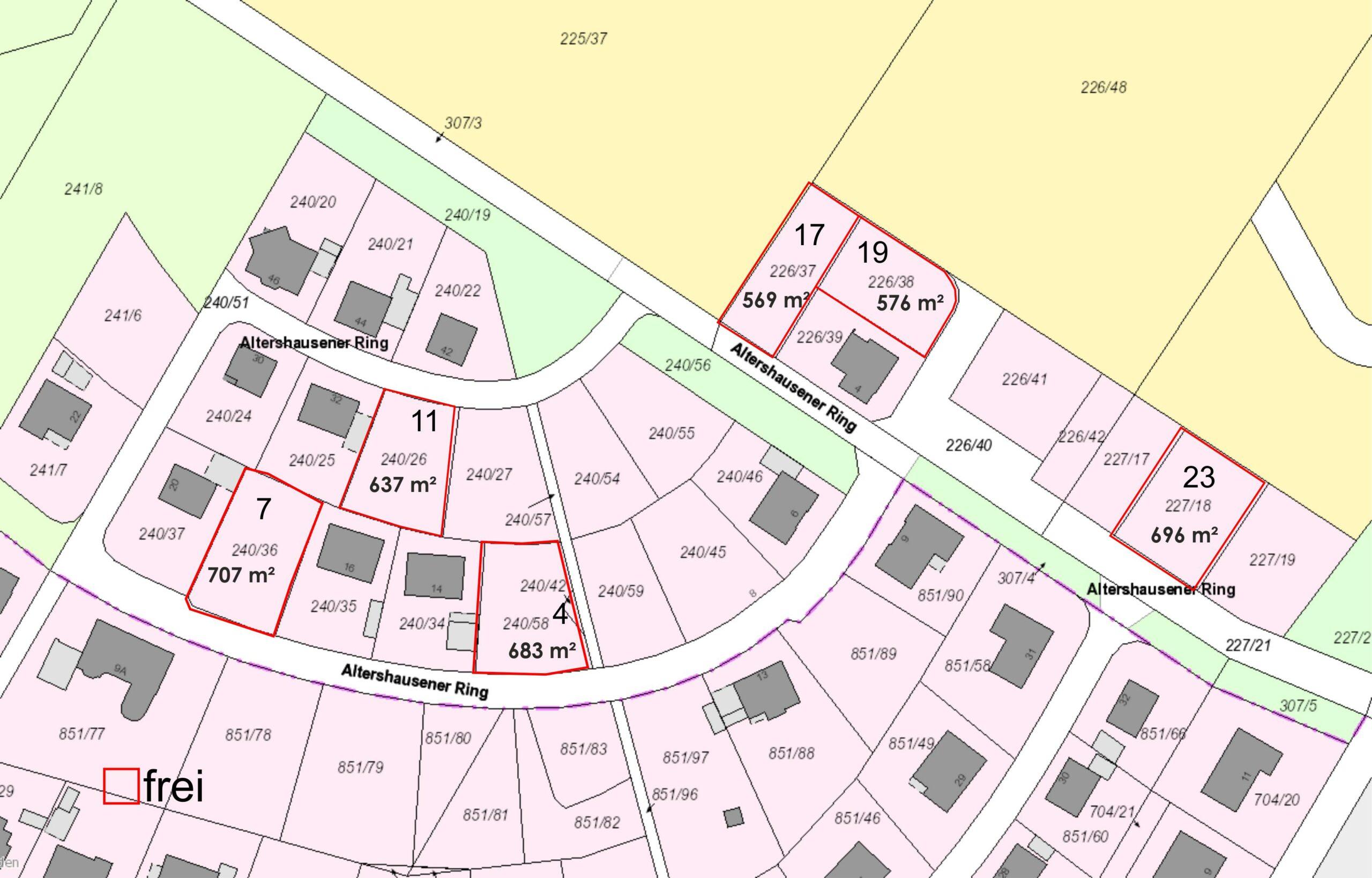 Baugebiet Hüschebrink-Hohenwegsfeld